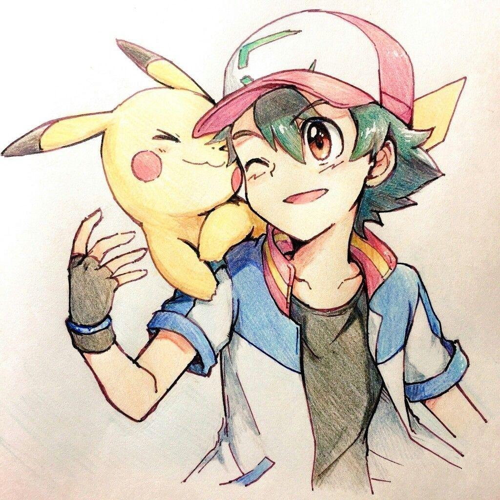 Pin von JYUniverse auf Satopika Pikachu zeichnung