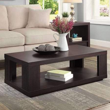 better homes gardens steele coffee table with spacious lower shelf rh pinterest com