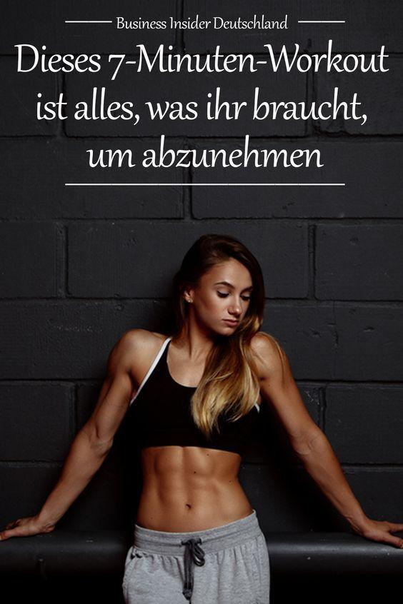 Dieses 7-Minuten-Workout ist alles, was ihr braucht, um abzunehmen #weighttraining