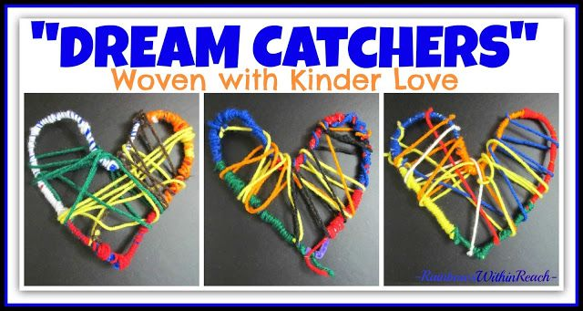 """""""Dream Catchers"""" Woven with Kinder-Luv as Gifts for Debbie Clement of RainbowsWithinReach"""