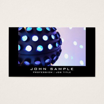 Party Event Planner Dj Music Concert Disco Business Card Cyo Create Your Own Gifts Dj Music Music Concert Party Event