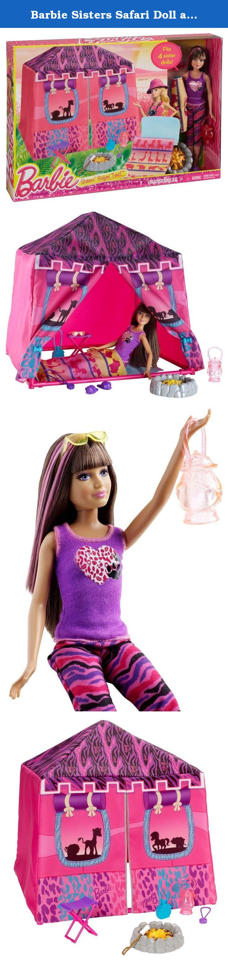 Barbie Sisters Safari Doll and Tent Playset. Barbie Sisters Safari Doll and Tent Playset  sc 1 st  Pinterest & Barbie Sisters Safari Doll and Tent Playset. Barbie Sisters Safari ...