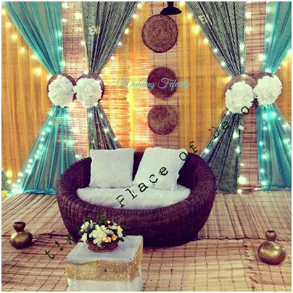 Check Out Nigerian Traditional Wedding Decor Ideas Here Gt Weddingfeferity