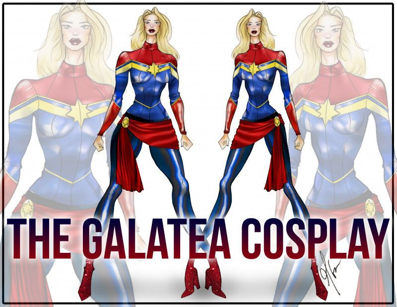 The Galatea Cosplay Free Captain Marvel Sewing Pattern Mood Sewciety Captain Marvel Costume Run Disney Costumes Running Costumes Without it, the shirt will not fit over your. free captain marvel sewing pattern