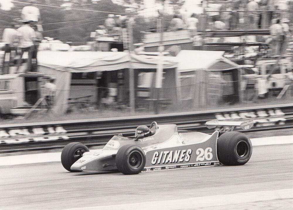 JACQUES LAFFITE LIGIER JS11 AFRICAN GP KYALAMI 1980 F1