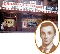 Charles Lazarus Founder Toys R Us With First Store Retail