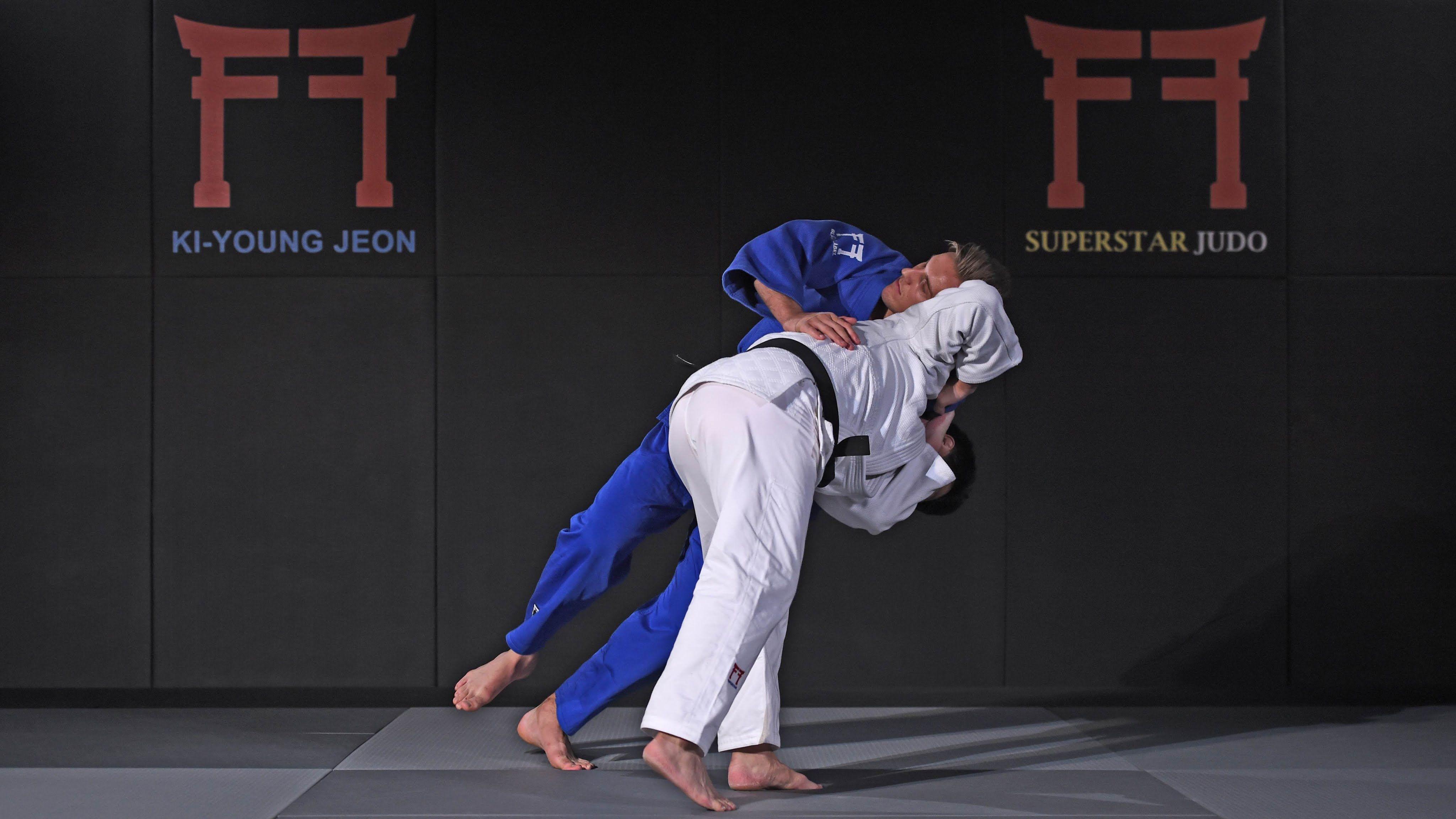 Superstar Judo Korean Reverse Seoi Nage Judo Superstar Martial Arts