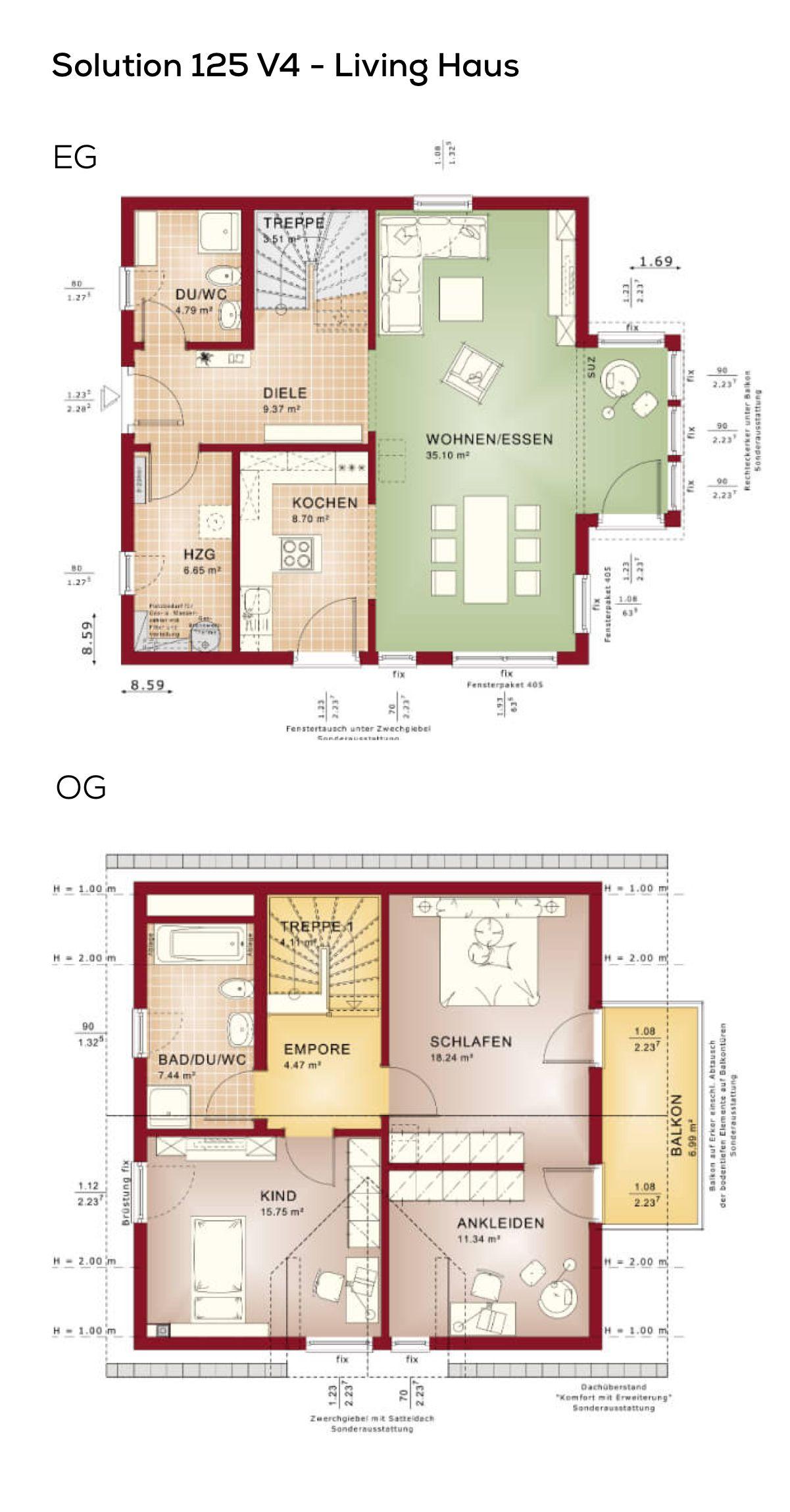 Einfamilienhaus Grundriss 3 Zimmer Erdgeschoss Kuche Offen Als