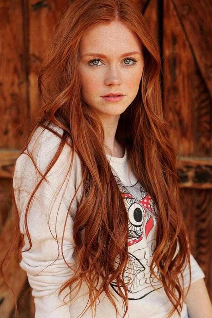 pin von milan auf red hair | naturrote haare