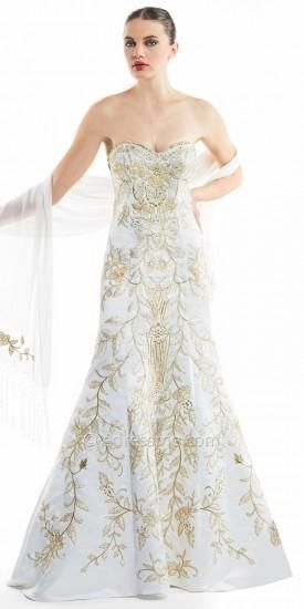848bc62cc4876 Floral Embroidered Mermaid Evening Dresses By Sue Wong | SUE WONG at ...