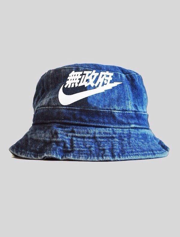 Japanese Nike Bucket Hat  e6066f29c67
