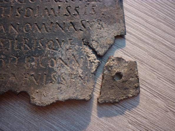 #roman #military #diploma bronze original b.c
