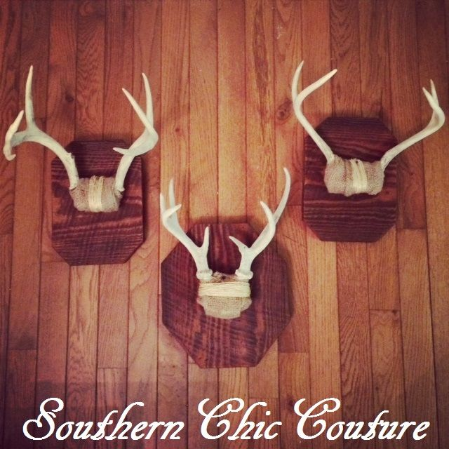 Southern Chic Couture - Rustic Style Antlers Home Décor