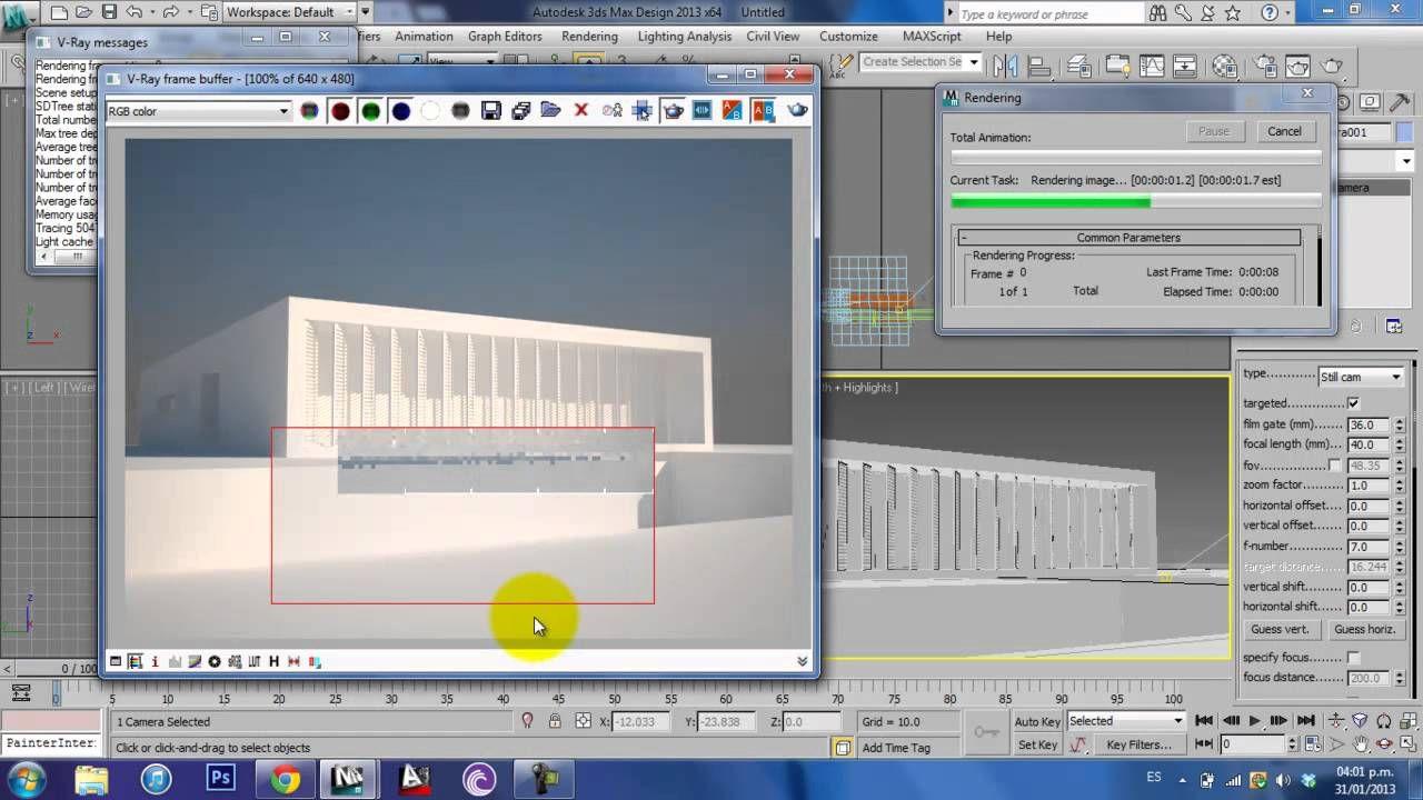 Vray Tutorials Exterior Lighting Vray Pinterest Tutorials 3ds Max And 3d