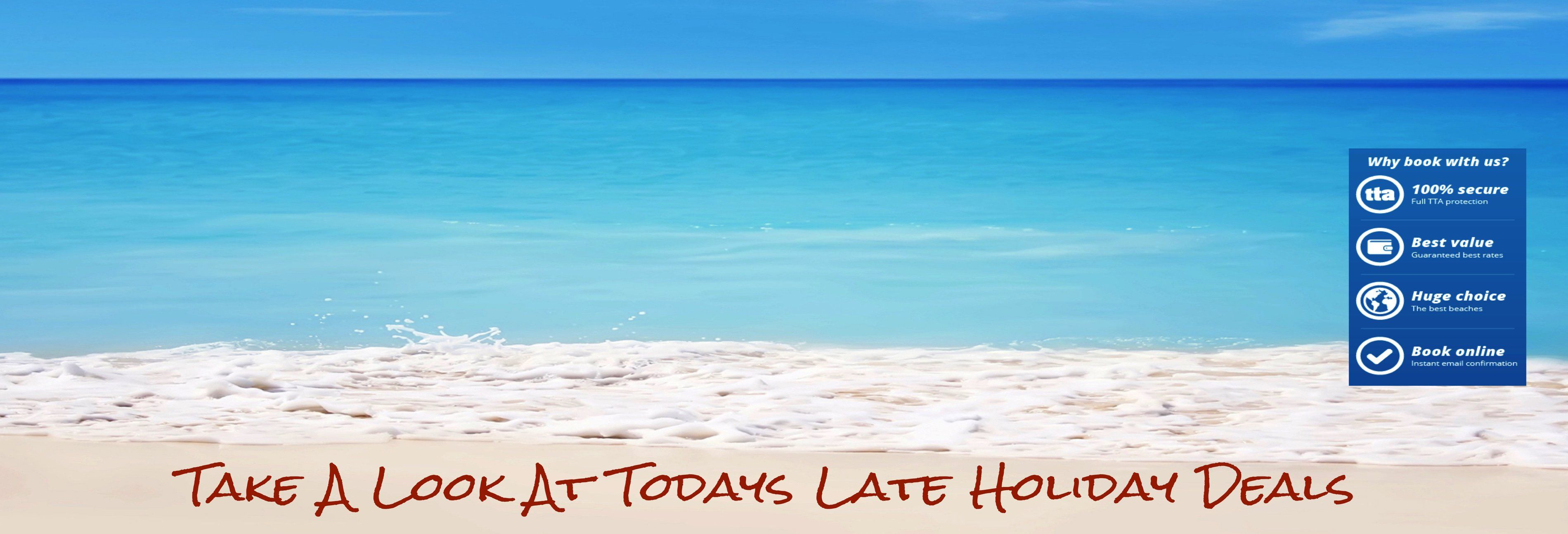 Last Minute Deals Cheap Late Holiday Deals Are What We Do Best We Are All About Passing You The Best Value Holidays Cheap Beach Vacations Holiday Deals Trip