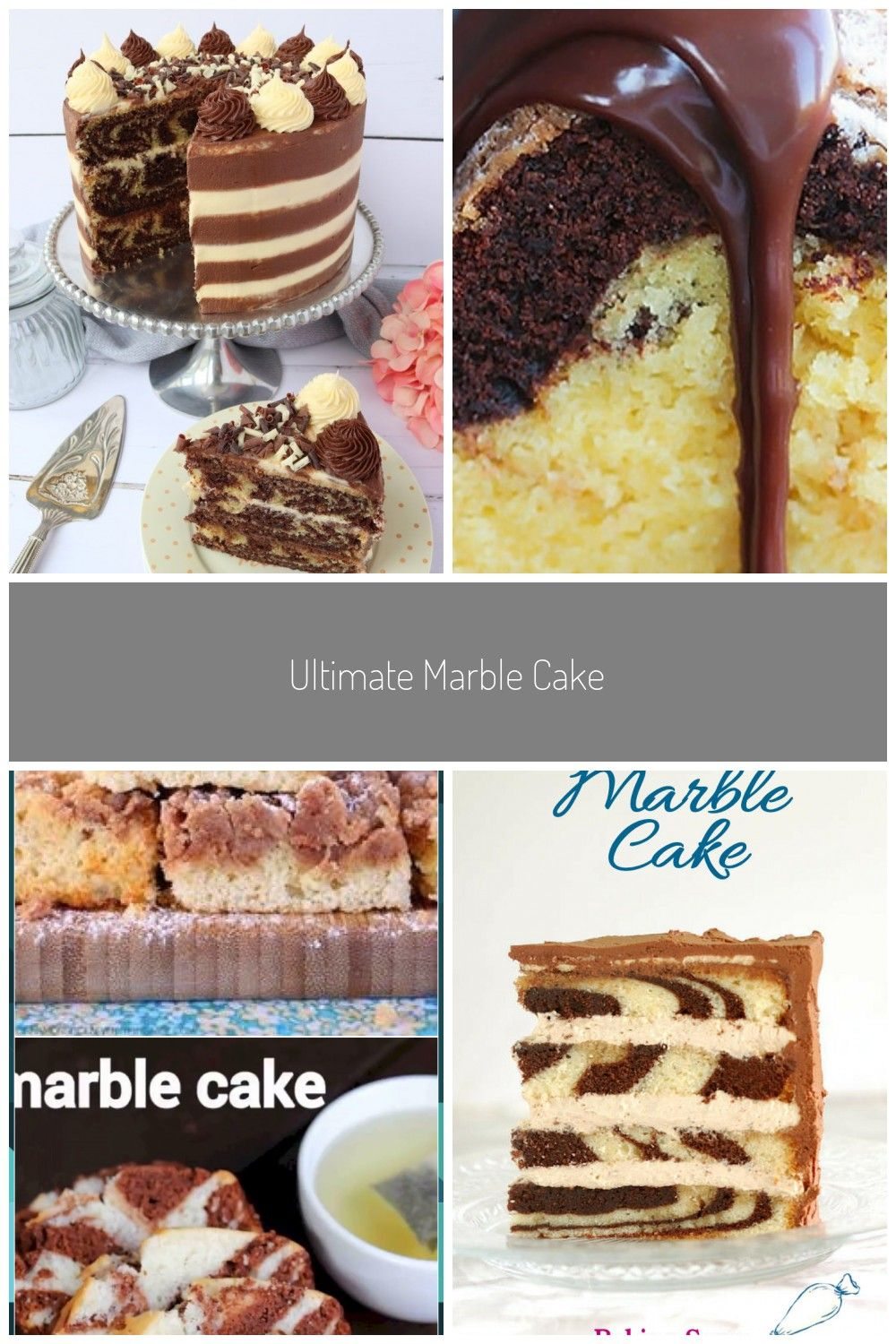 chocolate and vanilla marble cake with striped buttercreammoist and tender marble cake recipes on hebbar s kitchen cake recipes id=55289