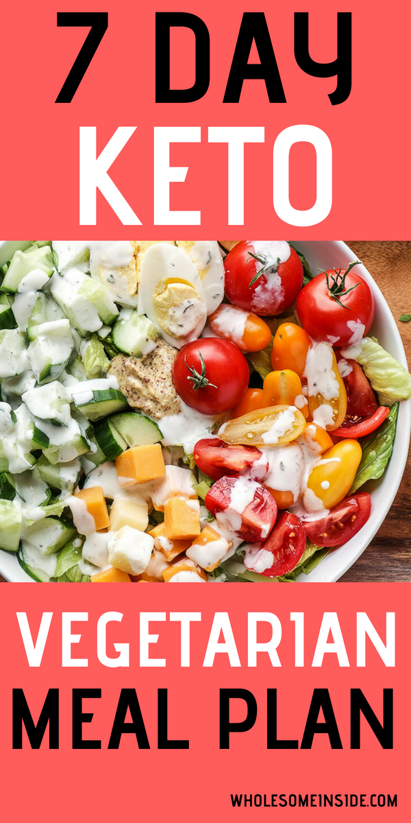 Photo of 7 Day Vegetarian Keto Meal Plan – Wholesome Inside
