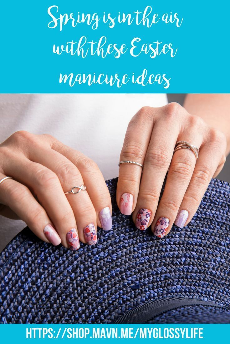 Spring Is In The Air With These Easter Manicure Ideas Spring Nail