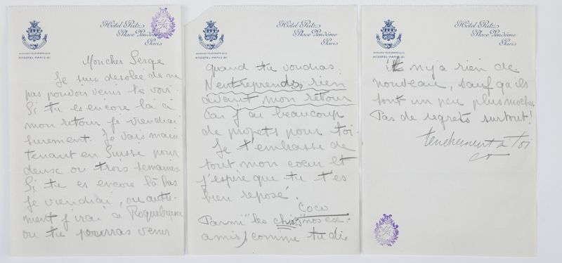 Coco Chanel Handwritten Letters  Cerca Con Google  Nowhere Lands