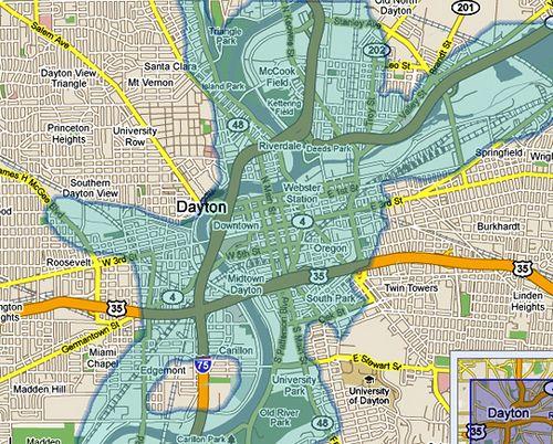 1913 Flood Dayton Ohio Dayton Ohio Ohio My Ohio