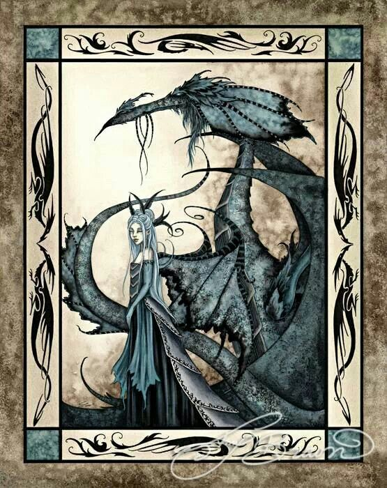 Amy Brown - Wicked dragon