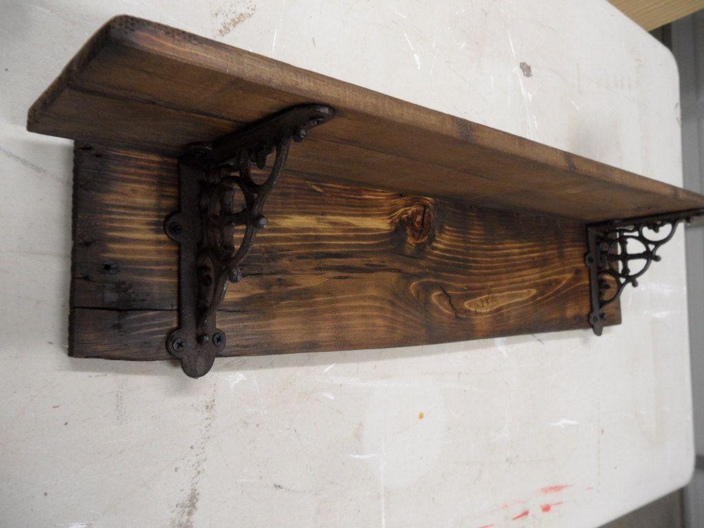 Primitive Country Barnwood Furniture Rustic Barnwood Style Shelf