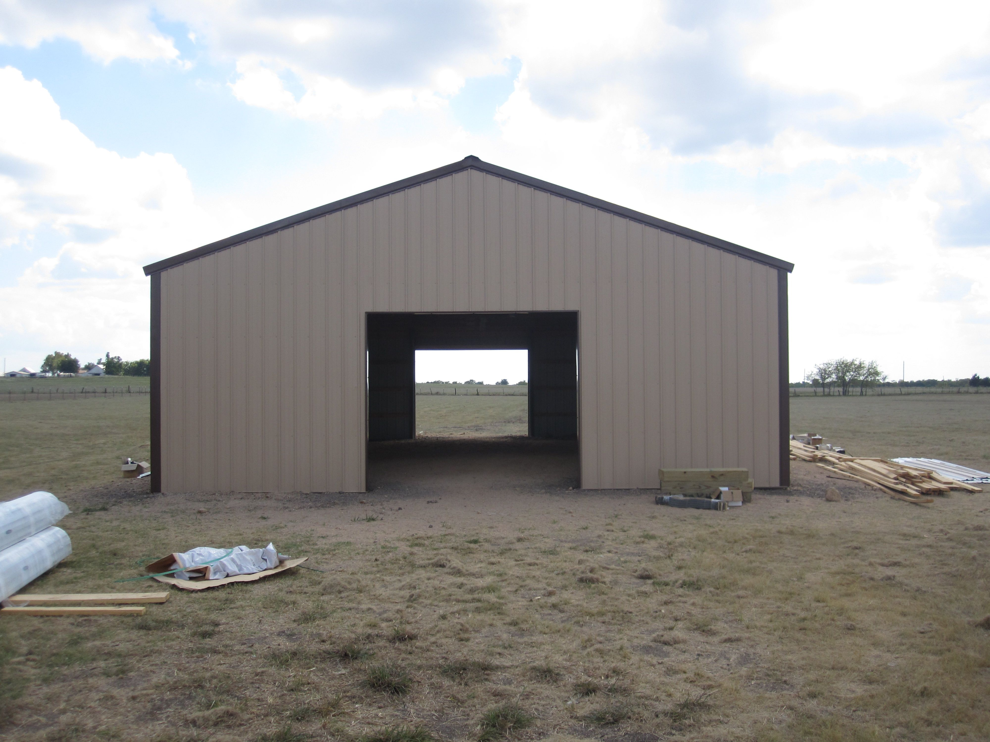 One Stop Pole Barn and Post Frame Buildings Building a