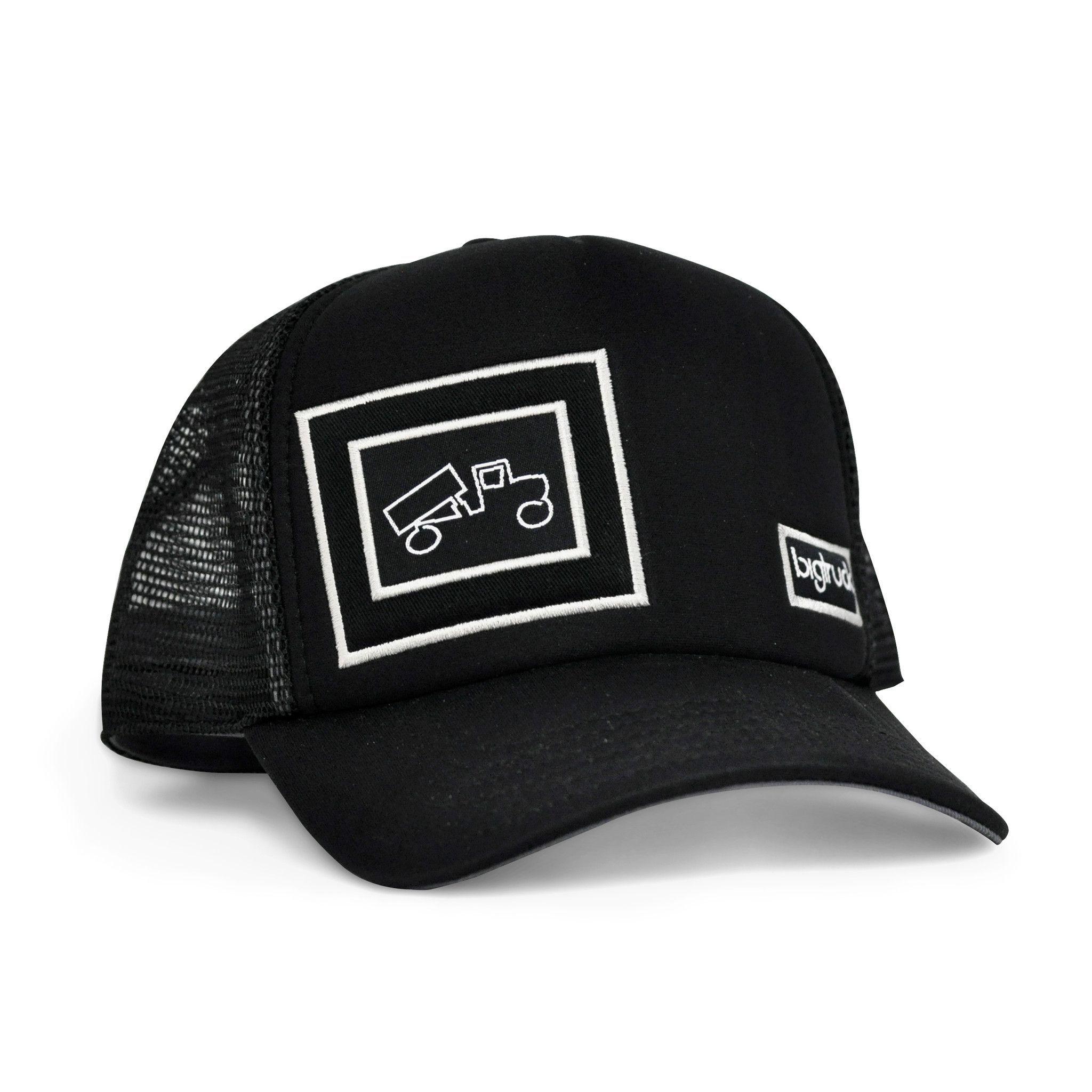 40f164bdf429b4 ORIGINAL OG BLACK Black Trucker Hat, Snapback Hats, Big Trucks, The  Originals,