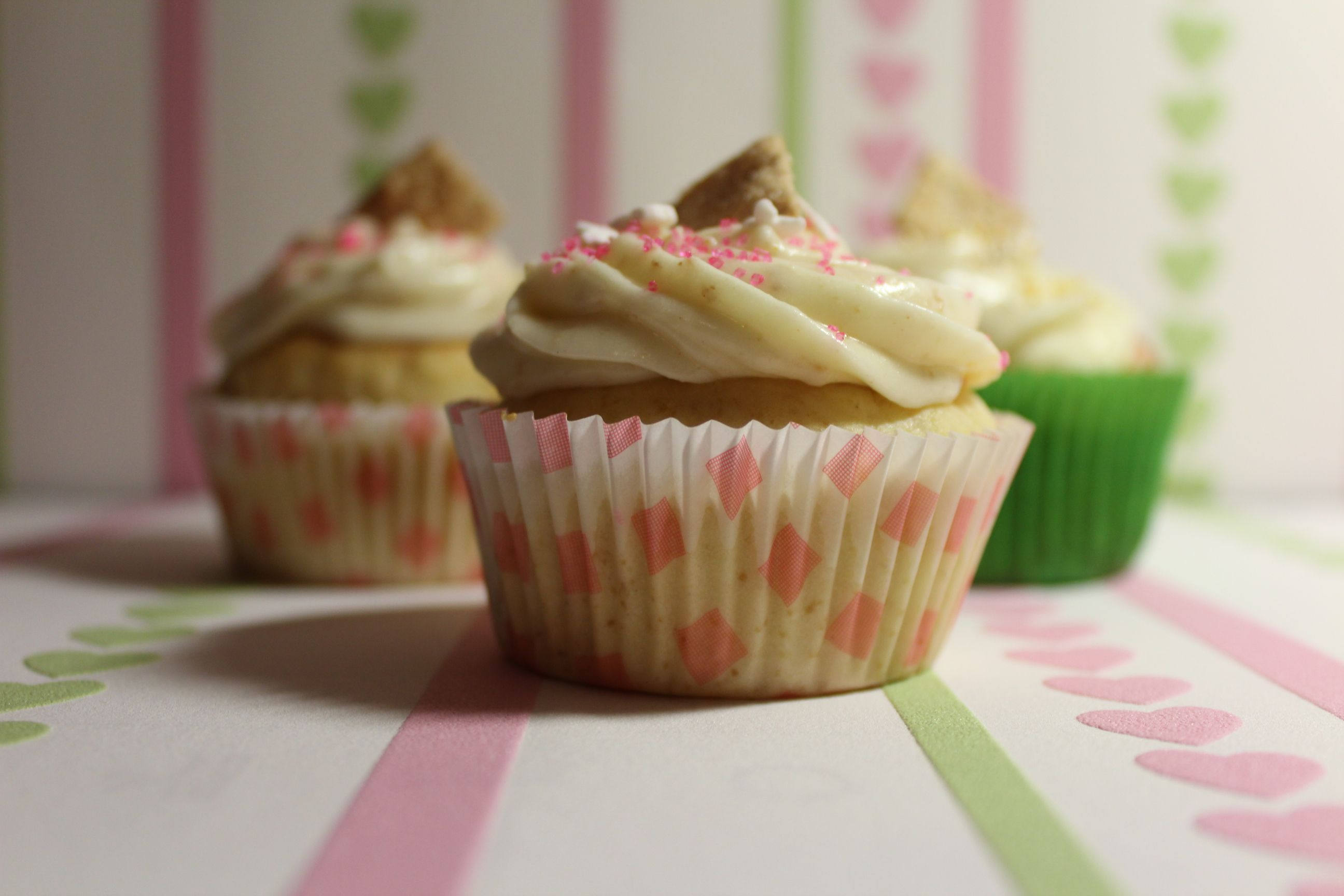 Apfel-Zimt Cupcakes