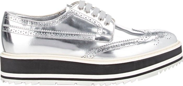 97a387f3 PRADA Wingtip Brogue Platform Sneakers. #prada #shoes #all ...