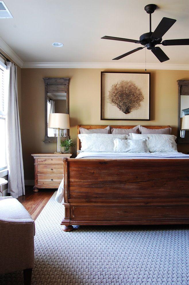Restoration Hardware Paint Beach Style Bedroom Decorators New York Area Rug Ceiling  Fan Lake Lake House