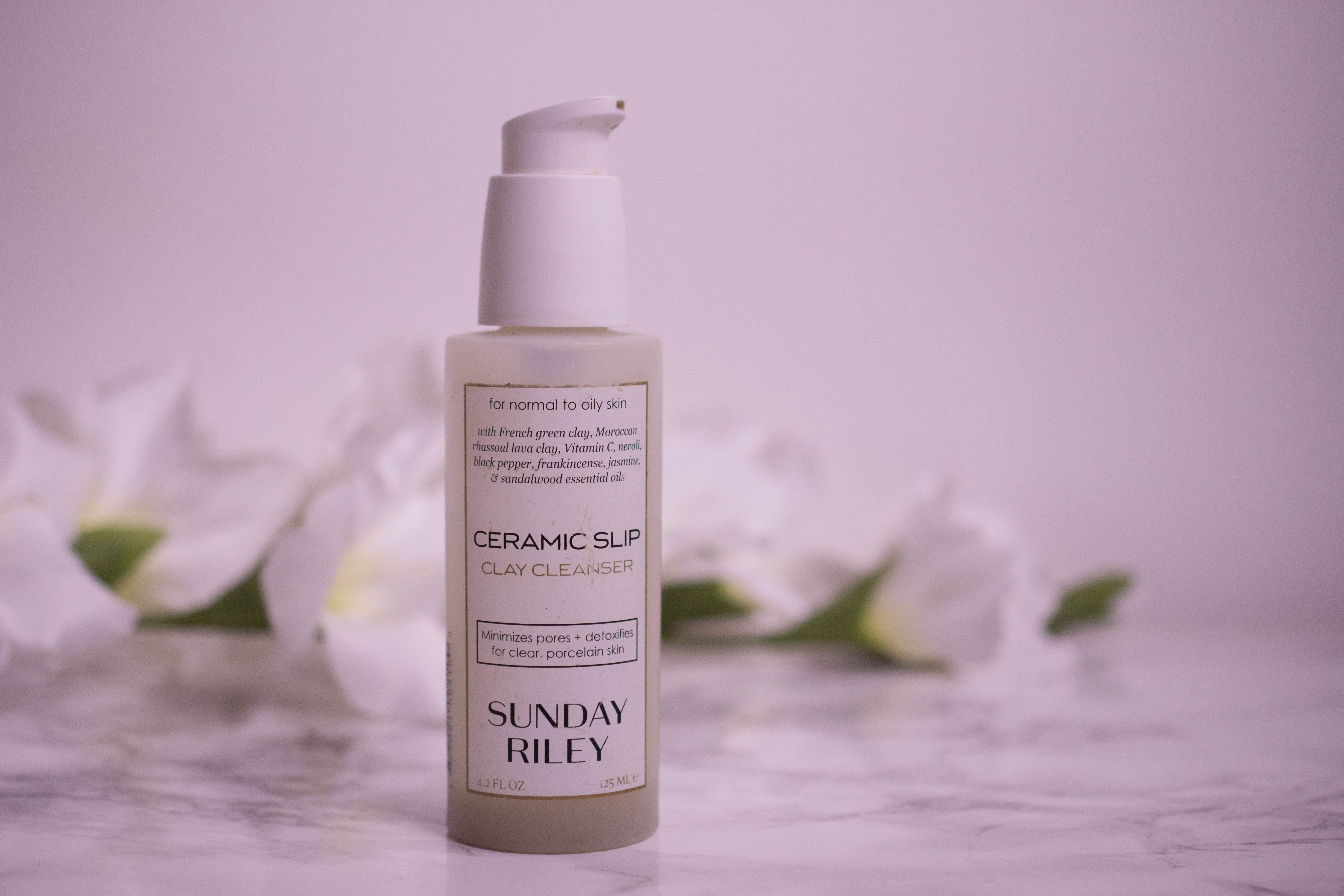 Sunday riley ceramic slip cleanser the not so foaming face