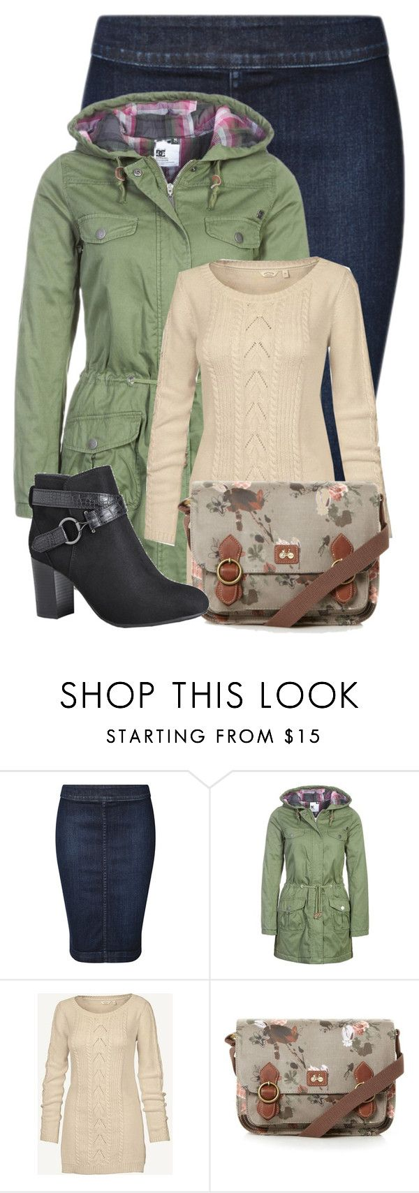 """""""Untitled #21270"""" by nanette-253 ❤ liked on Polyvore featuring Devoted, DC Shoes, Fat Face, Nica and Avenue"""