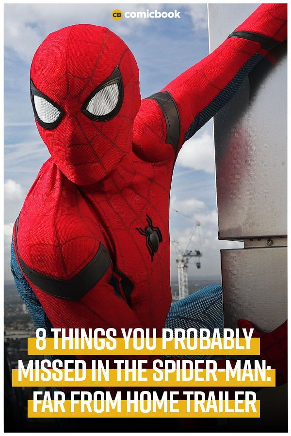 All 'SpiderMan Far From Home' Trailer Easter Eggs