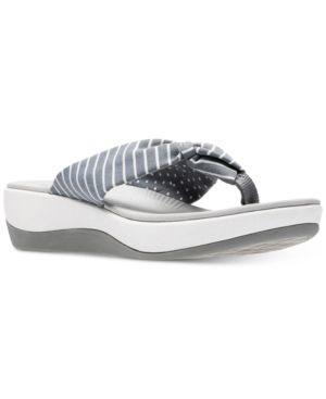 873b4004b010 CLARKS COLLECTIONS WOMEN S ARLA GLISON FLIP-FLOPS WOMEN S SHOES.  clarks   shoes