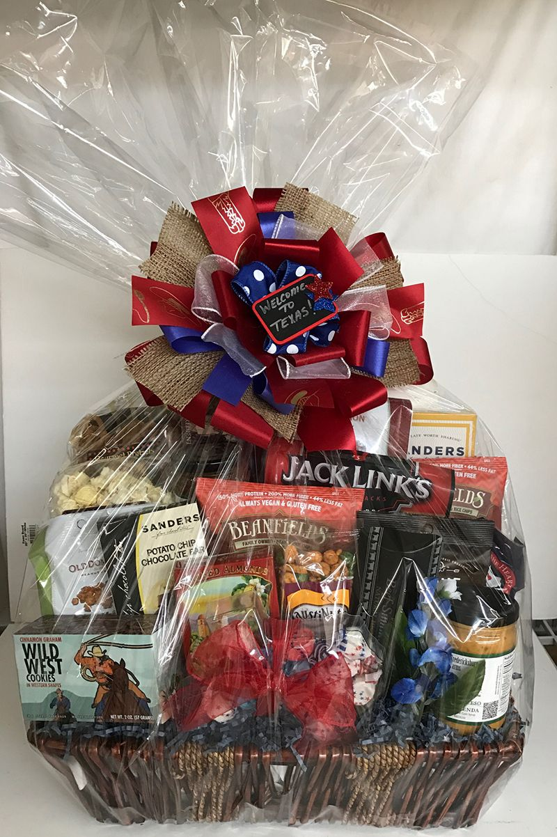 Pin By Design It Yourself Gifts Baskets On Texas Gift Baskets