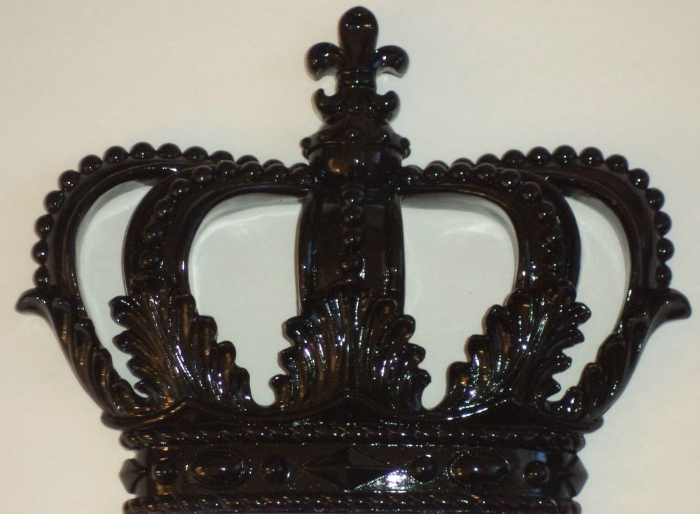 King And Queen Crown Wall Decor royal crown wall decor black prince princess king queen his hers