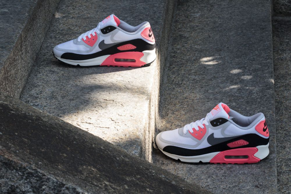 "the best attitude e37b1 12628 Nike Air Max 90 Premium Tape QS ""Infrared"""