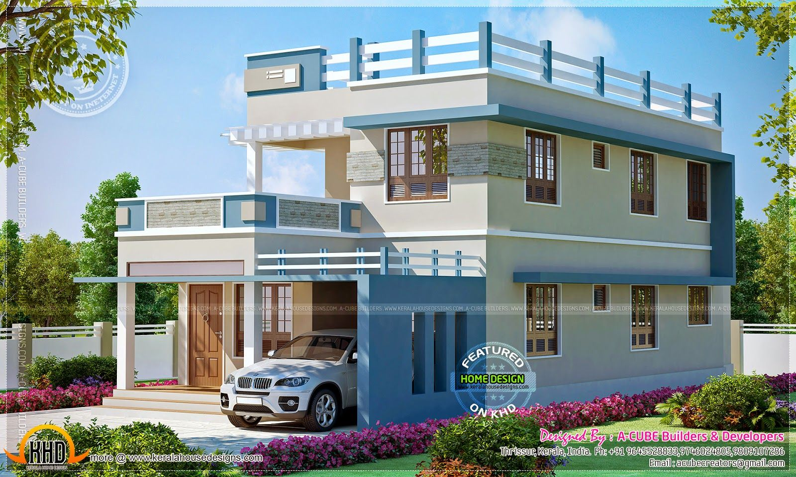 28 New Home Design Home Design New Home Design Kerala House Design Cool House Designs House Design