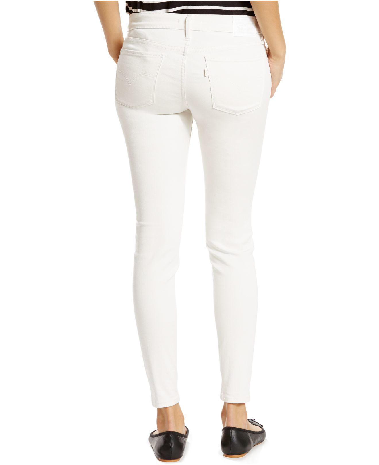 Levi's Women's White Skinny Jeans See more Levi's Skinny jeans. Subscribe to the latest from Levi's. Find on store. We check over stores daily and we last saw this product for $ 88 at Farfetch. Go to Farfetch Try these instead. Levi's High Rise Skinny Jeans $60 $50 (15% off)Price: $