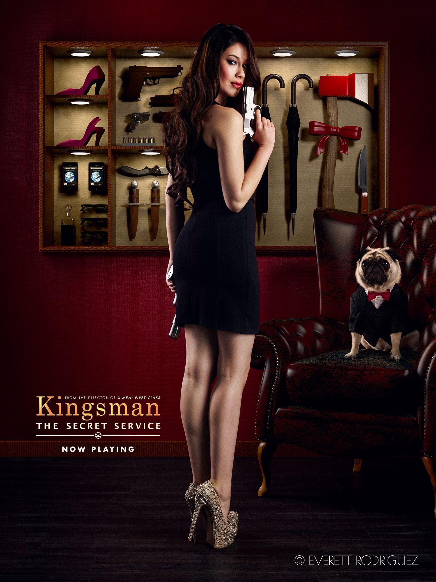 A Cheeze's version for Kingsman The Secret Service movie