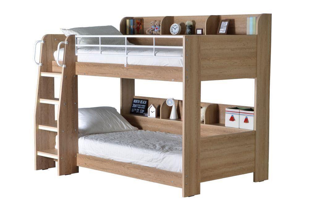 Oak Bunk Beds With Storage Home Design Ideas