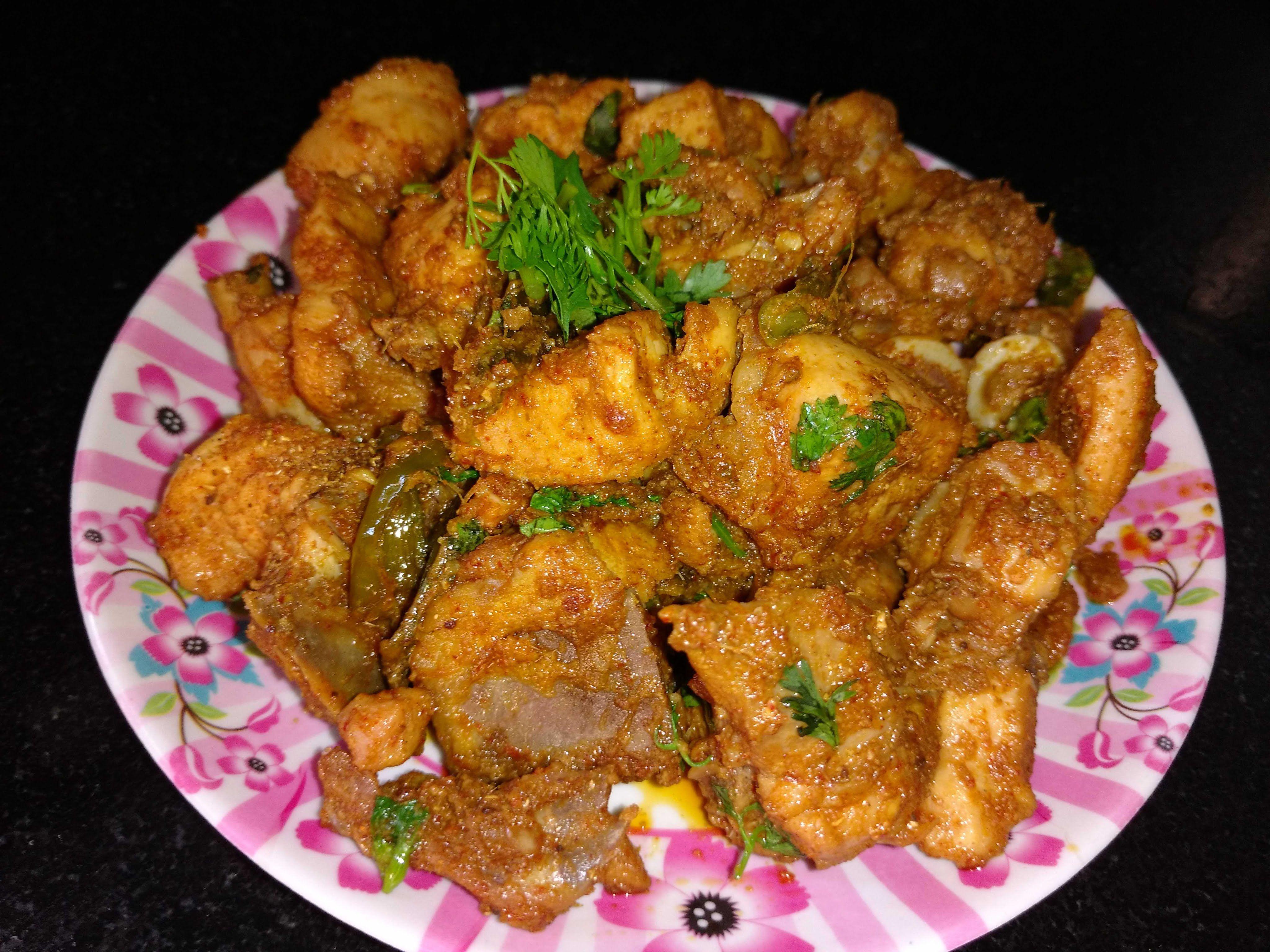 Simple Chicken Fry Recipe Preparation in Telugu Recipes