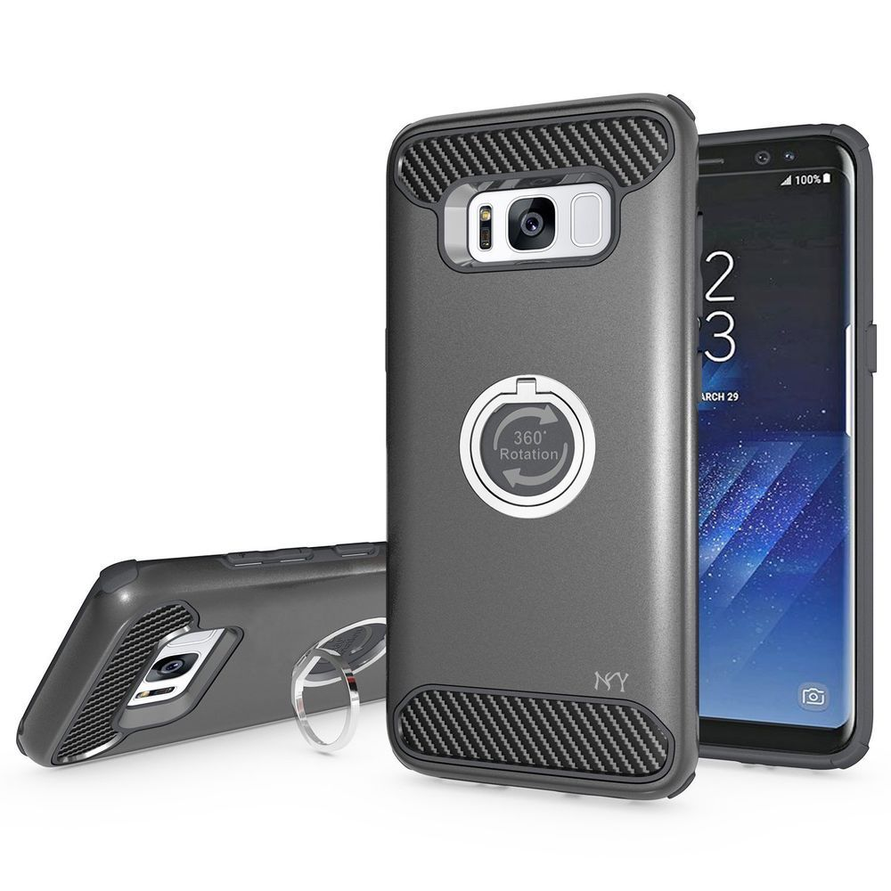 Galaxy S8 Plus Case Drop Protection Hybrid Dual Layer ...