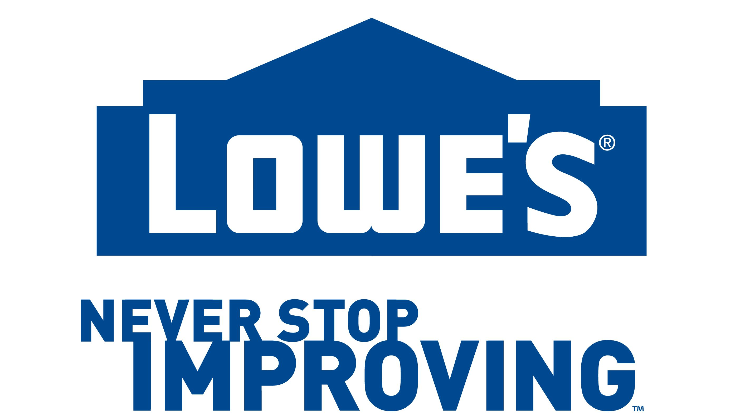 Lowe's is so down for California. They totally get me