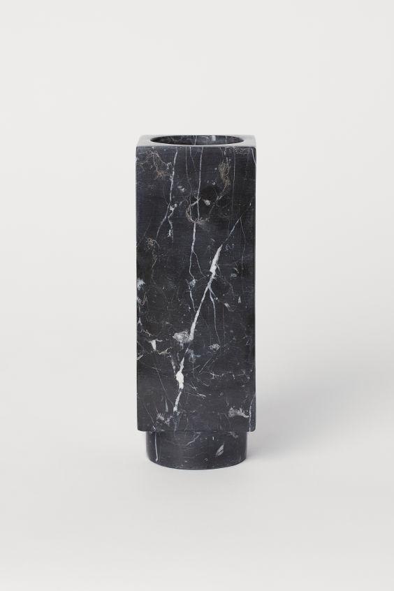 Marble Vase Black Marble Home All H M Us Marble Vase Vase H M