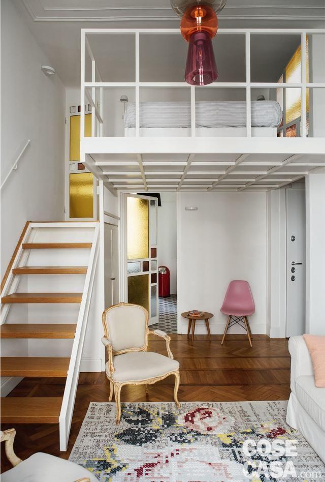 Soppalco una camera in più nella casa di 37 mq Maison