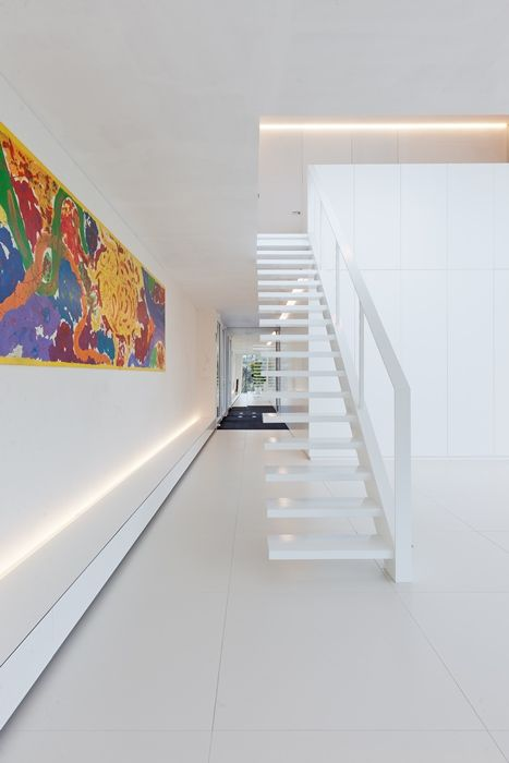 Project Filip Deslee interior architect - Interview | stairs ...
