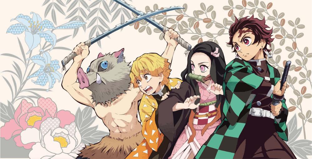 Furyu Inosuke Zenitsu Nezuko Tanjiro Kimetsu No Yaiba Demon Slayer Bath Towel 1 Slayer Latest Anime Anime
