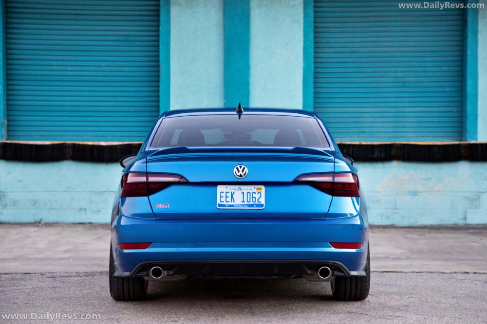 2021 Volkswagen Jetta Gli Blue Lagoon Concept Dailyrevs In 2021 Car Gallery Volkswagen Jetta